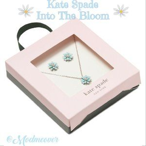 Kate Spade Into The Bloom 3 PC Jewelry Set NEW